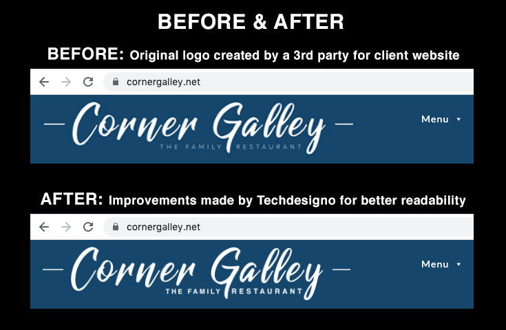 corneygalley logo blog before and after v6