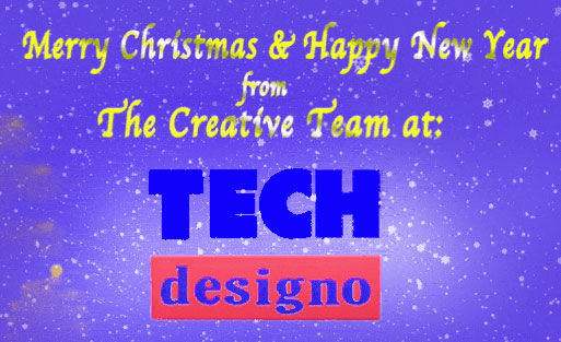 merry christmas from techdesigno